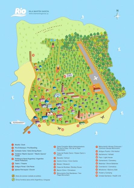 mapa isla