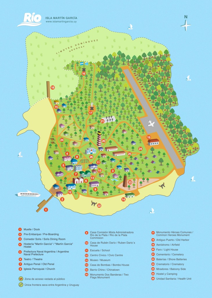 mapa isla martin garcia